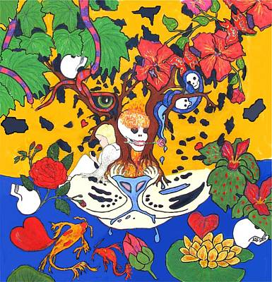 Poster featuring the painting Jungle Fever by Stephanie Grant