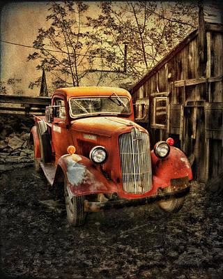 Junkyard Art Dressed Up No Place To Go Poster by Robert Albrecht