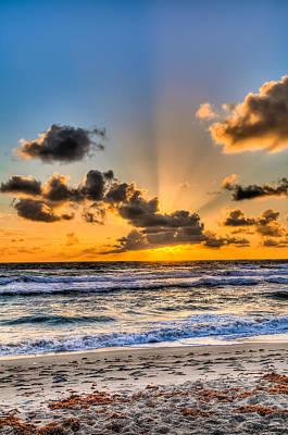 Juno Beach Sunrise Poster