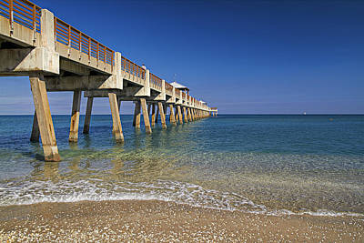 Juno Pier Poster by Island Photos