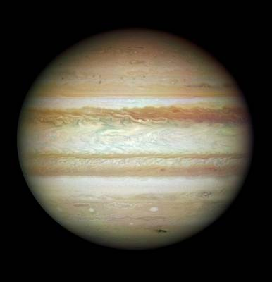 Jupiter In July 2009 Poster by Nasa/esa/stsci/ssi/jupiter Impact Team