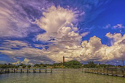 Jupiter Lighthouse II Poster by Island Photos