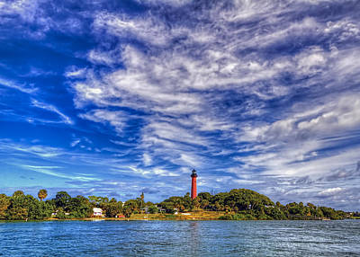 Jupiter Lighthouse IIi Poster by Island Photos