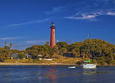 Jupiter Lighthouse Poster by Island Photos