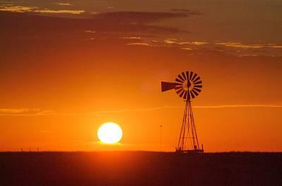 Just Another Nebraska Sunset Poster