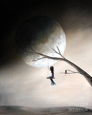 Just Like Heaven By Shawna Erback Poster by Shawna Erback