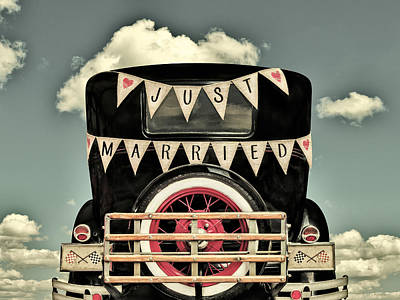 Just Married Poster by Martin Bergsma