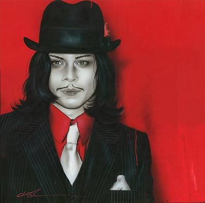 Jack White - ' J. W. ' Poster by Christian Chapman Art