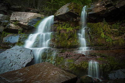 Kaaterskill Falls Poster by Edgars Erglis