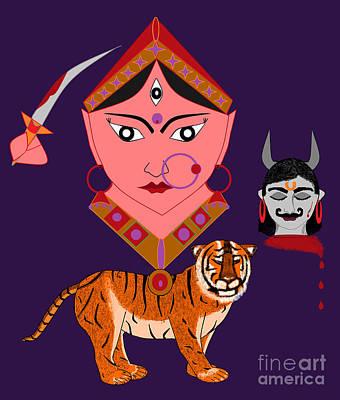 Kaatyayani Poster by Pratyasha Nithin