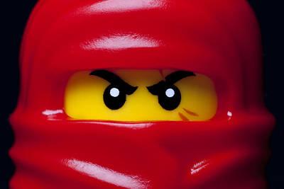 Kai Red Ninjago Poster by Samuel Whitton