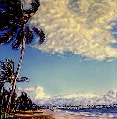 Poster featuring the photograph Kailua Beach 1 by Paul Cutright