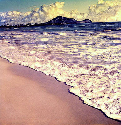Poster featuring the photograph Kailua Beach 2 by Paul Cutright