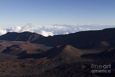 Kalahaku Overlook Haleakala Maui Hawaii Poster