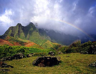 Kalalau Valley Kauai Poster by Kevin Smith