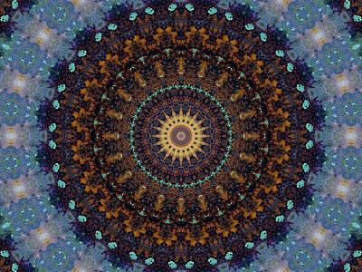 Kaleidoscope 1 Poster by Tom Druin