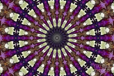 Kaleidoscope Iris Poster