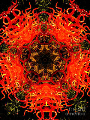 Kaleidoscope Of Blown Glass Poster by Amy Cicconi
