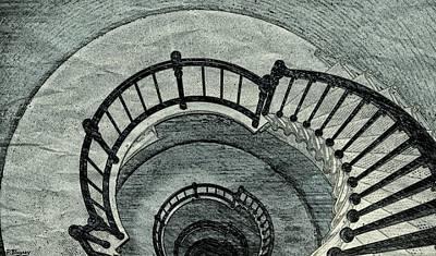 Kaleidoscope Staircase Poster by Pamela Blayney