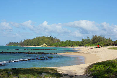 Kanaha Beach Park, Maui, Hawaii Poster by Douglas Peebles