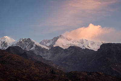 Kanchenjunga From A Distance Poster