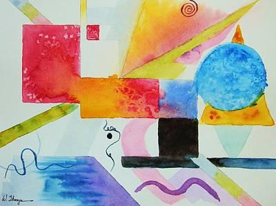 Kandinsky Dreaming Poster