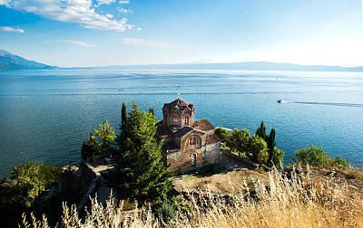 Kaneo - Ohrid Poster by Ivan Vukelic
