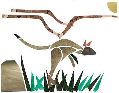 Kangaroo Poster by Earl ContehMorgan