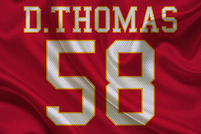 Kansas City Chiefs Derrick Thomas Poster