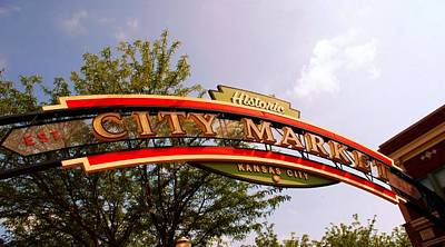 Kansas City Historic City Market Est 1857 Poster