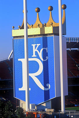 Kansas City Royals, Baseball Stadium Poster