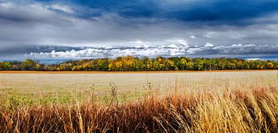 Kansas Fall Landscape Poster