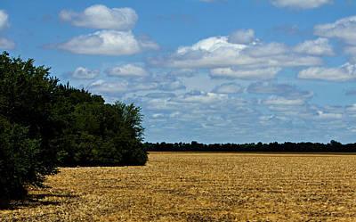 Kansas Fields Poster by Jeanette C Landstrom