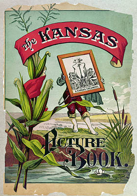 Kansas Picture Book, 1883 Poster