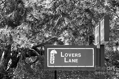 Kansas State University Lovers Lane Poster by University Icons