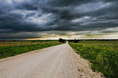 Kansas Storm In June Poster