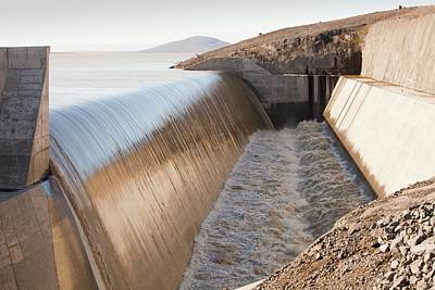 Karahnjukar Dam Overflow Poster
