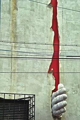 Karate Chop Poster