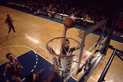 Kareem Abdul Jabbar Easy Layup Poster by Retro Images Archive