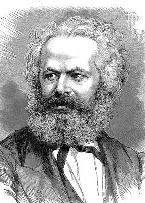 Karl Marx Poster by Collection Abecasis