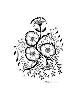 Karla's Flowers Poster