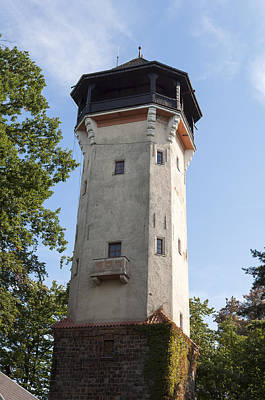 Karlovy Vary Observation Tower. Poster