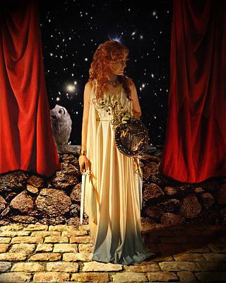 Kat As Athena  Poster