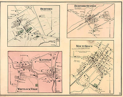 Katanoh, Town Of Bedford, N.y. - Mount Kisco Poster by Litz Collection