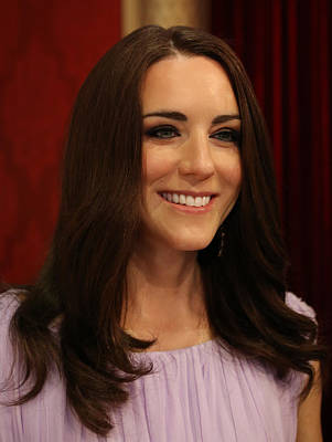 Kate Middleton Duchess Of Cambridge Poster by Lee Dos Santos