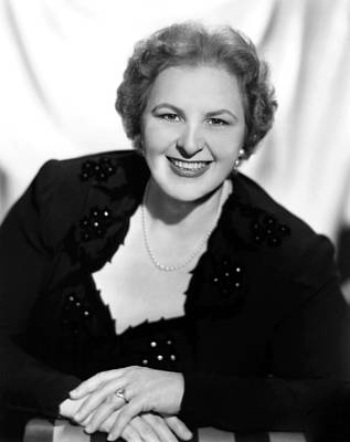 Kate Smith, Ca. 1950s Poster by Everett