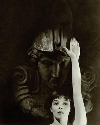 Katharine Hepburn Raising Her Hand Poster by Cecil Beaton