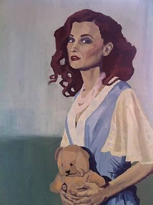 Katie - Teddy Bear Poster