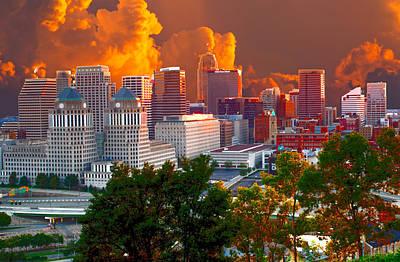 Katrina Storm Hits Cincinnati Poster