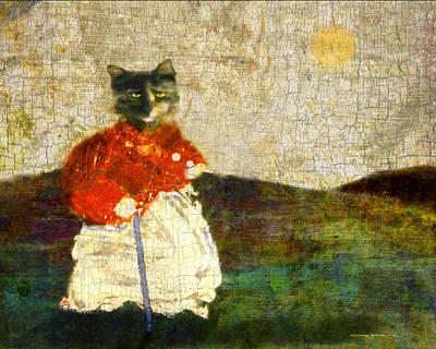 Katzenmutter Poster